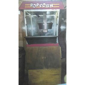 Maquina De Palomitas Tor-rey 8oz. Incluye Mueble Con Ruedas