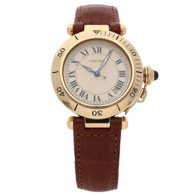 d3638efafc3 Relogio Cartier Pasha Automatico Mostrador Salmao . - Relógios De ...