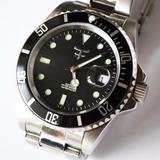 Reloj Kosiuko Watch 767c Acero Hombre Calendario