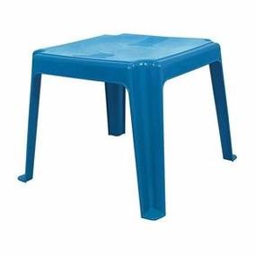Mesa (mesinha) Infantil + 2 Cadeiras Azul - Imperdível!