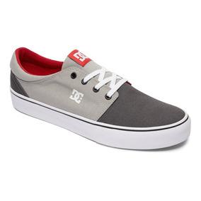 Tenis Calzado Hombre Zapato Casual Trase Tx Gris Dc Shoes
