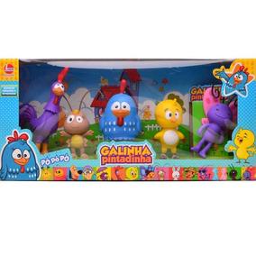 Brinquedo Coleção Galinha Pintadinha Com Personagens Lider