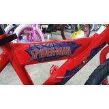 Bicicleta Spider Man Original Aro 16 Nueva