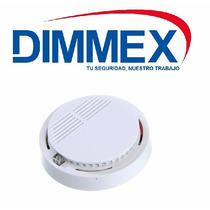 Detector De Humo Con Bateria 9v. Alarma Autónomo