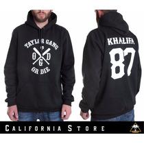 Moletom Wiz Khalifa Taylor Gang Fr Grátis California Store