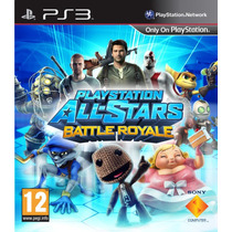 Playstation All Stars Battle Royale Ps3 + Kane And Lynch 2