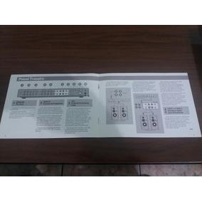 Manual Amplificador Cygnus Ac200 - *cópia Encadernada