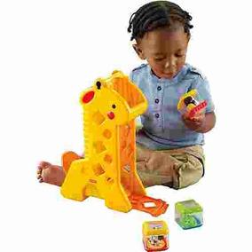 Girafa Com Blocos Fisher Price B4253 Mattel