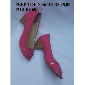 Peep Toe Saltinho