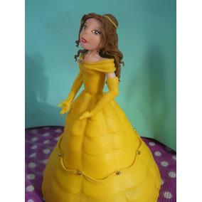 Adorno De Torta En Porcelana Fría Princesa Bella