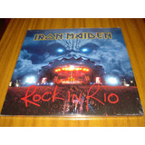 Vinilo Iron Maiden / Rock In Rio (nuevo Y Sellado) 3 Lp