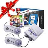 Consola Snes Classic + Nintendo 2ds Mario Kart +sm Sports