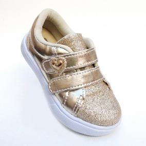 Sapato Sapatenis Infantil Menina Cano Baixo Barato