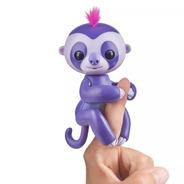 Agarradinhos - Fingerlings - Baby Sloth Roxo - Candide