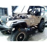 Restauración De Carrocería De Jeep Wrangler
