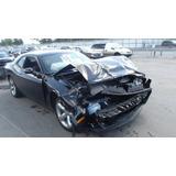 Dodge Challenguer 2012 Deshuesadero Accidentado