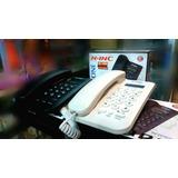Teléfono Alambricos Fijos Caso Oficina Con Identificador