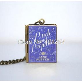 Colar Livro Jane Austen - Pride And Prejudice