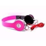 Fone Ouvido Mex Mix Style Headphone Para Mp3 Celulares Rosa