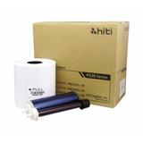 Kit Papel + Ribbon Hiti P520l P525l 4×6 500 Copias 10x15