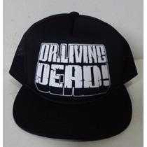 Boné Dr Living Dead ! Trucker Cap Flip Hat