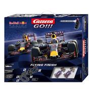 Pista Slot Carrera Go!!! Flying Finish Red Bull  Escala 1/43