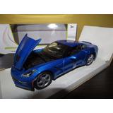 Perudiecast Maisto Corvette Stingray Coupe 2014 Escala 1:24