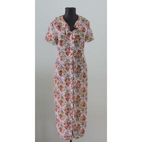 Vestido Floreado Vintage Abotonado Anntaylor. - Envios