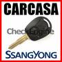 Carcasa Llave Ssangyong Actyon Kyron Rexton Control Remoto