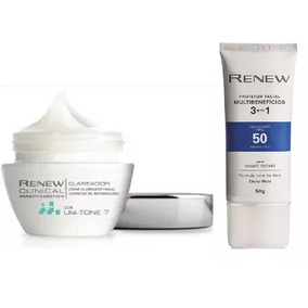 Protetor Solar Facial Renew + Renew Clinical Avon