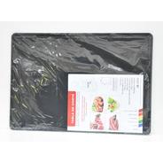 Tabla De Corte Gastronómica Plastico Teflonado 35x50 Negra