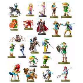 Amiibo Zelda - 22 Amiibos Compatíveis Com Botw - P. Entrega