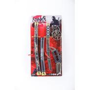 Set De Armas Ninja Weapon Series Jem