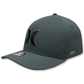 Gorra Hurley Drifit Heather Hats In Black