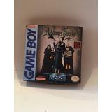 Juego Game Boy Locos Adams Con Caja Y Manuales !