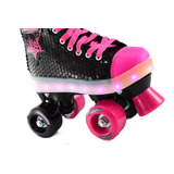 Patin Chicago Con Luces Led Marca Kossok