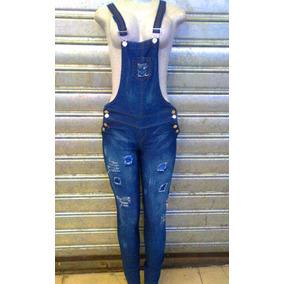 Braga Pantalon Larga Blue Jean Dama