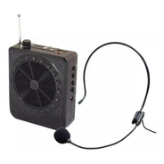 Amplificador Voz Megafone Microfone Kit Professor Bluetooth