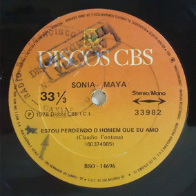 Sonia Maya 1978 Estou Perdendo O Homem Que Eu Amo Compacto