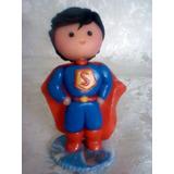 Superheroes De 7 Cm Masa Flexible Tope Para Tortas Infantil