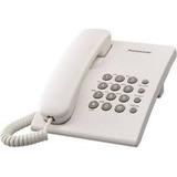 Telefono Panasonic Mesa Pared Fijo Casa Oficina Ts500