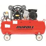 Compresor Aire 3hp X 150l Duroll Monofasico - Abrafer