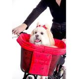 Pet Bike Cesto Para Carregar Cachorro Ou Compras Passeio