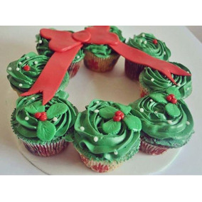 Arreglos De Mesa Navideños, Centros De Mesa En Df, Cupcakes