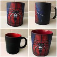 Taza Mágica Spiderman Marvel El Hombre Araña Rojo Comic