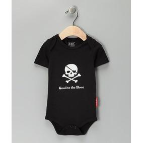 Body Infantil Caveira - Body Para Bebê - Importado