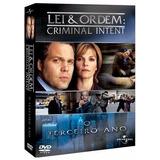 Dvd Lei & Ordem - Criminal Intent - 3ª Temporada - 6 Discos