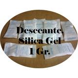 Desecantes, Silica Gel En Sobres De 1 Gr. 100 Sobres $85.00