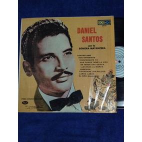 Lp Daniel Santos Con La Sonora Matancera