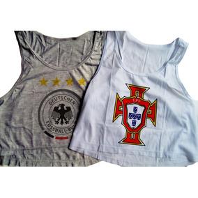 53e007a5b8 Blusas De Times Alemanha E Barcelona De Seda - Camisetas e Blusas ...